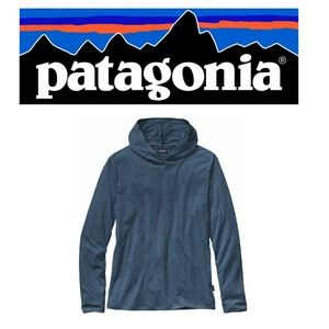 Patagonia Mens Daily Tri-blend Hoodie T-Shirt XL